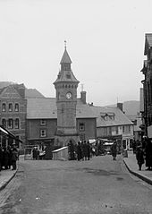 Knighton town clock