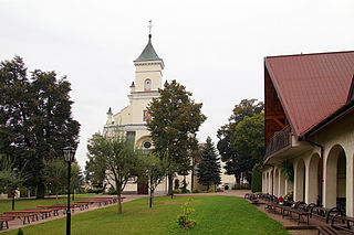 Bełżyce Place in Lublin Voivodeship, Poland