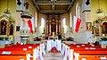 Kościół pw. św. Michała Archanioła w Mieścisku . Widok wnętrza kościoła - panoramio (1).jpg