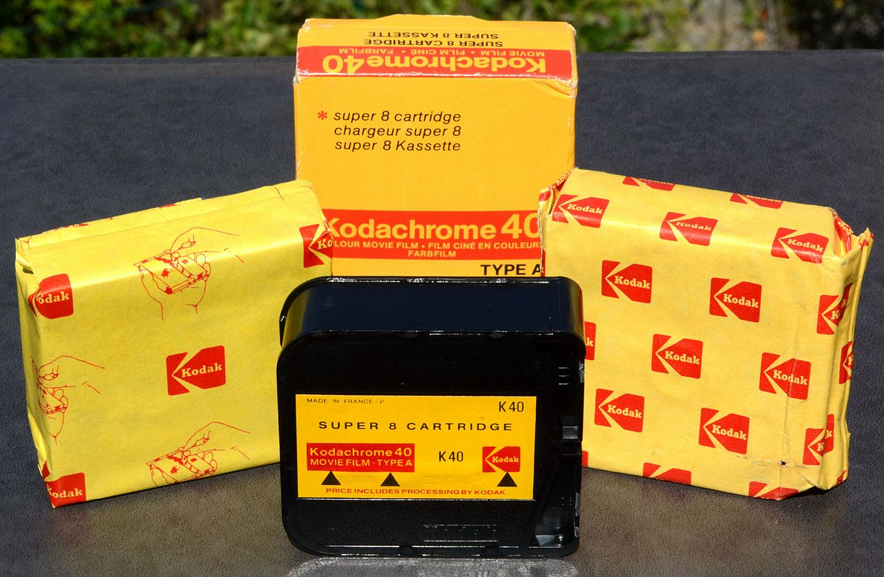 File:Kodak Kodachrome 40, Type A, set - Super 8 film
