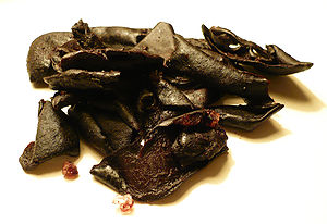 Garcinia indica - The dried skin of kokum fruits