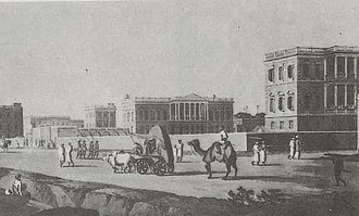 Chowringhee - Chowringhee in 1798