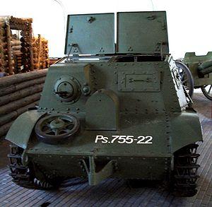 Komsomolets armored tractor - Image: Komsomolets armored tractor helsinki 1