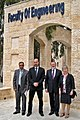 Kooperation mit der Philadelphia University (Jordanien) - Bani Younis, Tutunji, M. Lohöfener, C. Lohöfener (v. l.).jpg