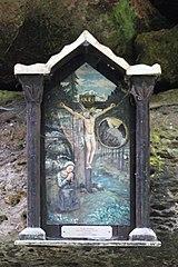 Svatý obrázek v údolí Brtnického potoka