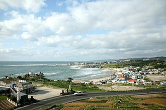 Pohang - A view of Guryongpo Beach
