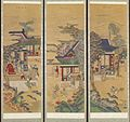 Korean - Ten-panel Folding Screen with Scenes of Filial Piety - Walters 35199 - Detail B.jpg