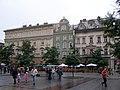 Krakow Rynek Glowny kamienice.jpg