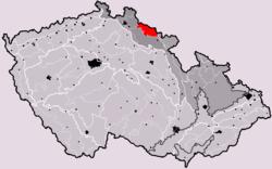 Krkonoše v rámci Česka