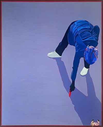"E. Kuryluk, ""Outlining my Shadow"", 1978"