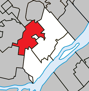 L'Épiphanie, Quebec (parish) - Image: L'Épiphanie (parish) Quebec location diagram