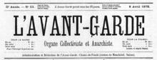 L'Avant-Garde, 8 de abril de 1878.