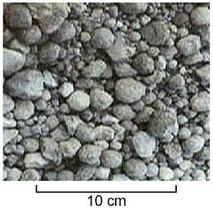 Sintering - Clinker nodules produced by sintering