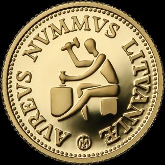 LT-1999-10litų-Lithuanian gold coins-b