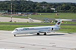 LZ-LDU McDonnell Douglas MD-82 Bulgarian Air Charter DUS 2017-08-23 (2) (36720624412).jpg
