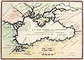 La Mer Noire Autrefois Pont-Euxin, Cara-Denghis Et par les Cosaques, Nikolas de Fer (Paris, 1705).jpg