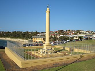 Botany Bay - Monument at La Perouse.