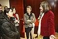 La consellera Capdevila rep la diputada afganesa Malalai Joya.jpg