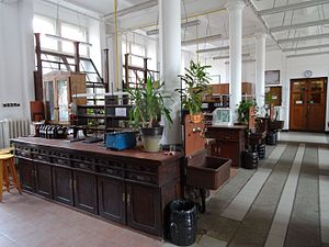Faculty of Chemistry, Gdańsk University of Technology - Student laboratory, 1904