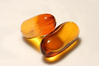 Omega-3 fatty acid - Fish oil capsules