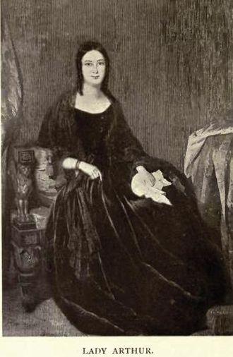 Sir George Arthur, 1st Baronet - Lady Eliza Orde Ussher Arthur