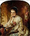 Lady with Letter by Abraham Solomon.jpg