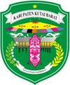 Official seal of West Kutai Regency