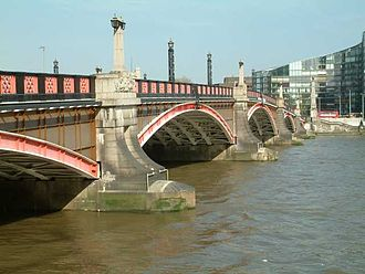 London County Council - Lambeth Bridge, built by the LCC in 1932