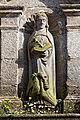 Lampaul-Guimiliau - Enclos paroissial - Extérieur - Statue - PA00090020 - 001.jpg