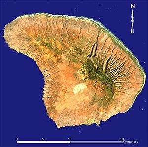 Lanai - Image: Lanai Landsat