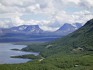 Abisko National Park - Lapporten in the Abisko National Park