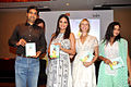 Lara Dutta launches her 'Prenatal Yoga' DVD (5).jpg