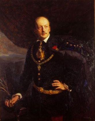 Leopold Berchtold - Portrait by Philip de László, 1906