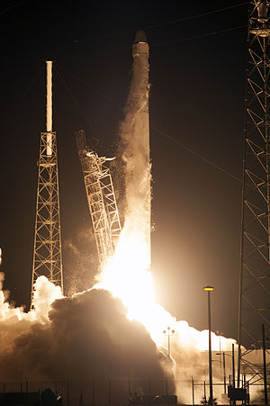 SpaceX CRS-4 - Liftoff of SpaceX CRS-4 aboard a Falcon 9 rocket on 21 September 2014