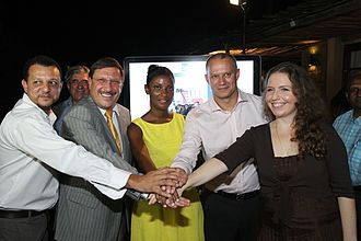 Seychelles News Agency - Launch of the Seychelles News Agency, April 2014