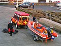 Launching a 'rib', Bangor (1) - geograph.org.uk - 792793.jpg