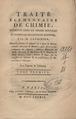 Lavoisier - Traité élémentaire de chimie, 1789 - 3895821 F.tif