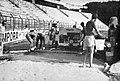 Lavori costruzione pista tartan Viareggio 1969.jpg