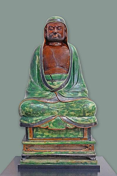 File:Le patriarche Bodhidharma (V&A Museum) (9471398169).jpg