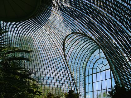 Interiér skleníku v Lednicko-Valtickém areálu