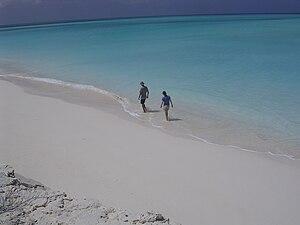 Long Island, Bahamas - Image: Lee Shore Beach Long Island