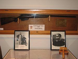 Wallaceburg -  Lee Rifle prototype, 1878