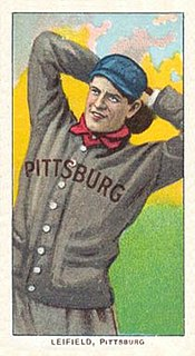 Lefty Leifield American baseball player