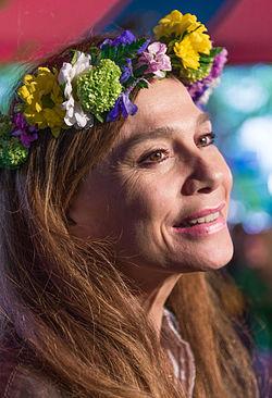 Lena Olin i juni 2015.