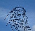 Leo Vroman. Kunstwerk van Jeroen Henneman.jpg
