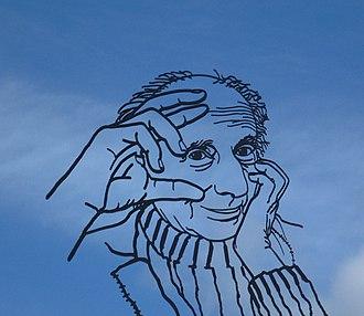 Leo Vroman - Portrait of Leo Vroman in Gouda (the Netherlands)