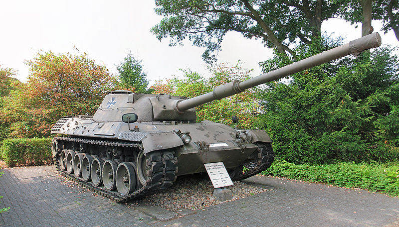 The Leopard I Prototype A - Credits: Wikipedia