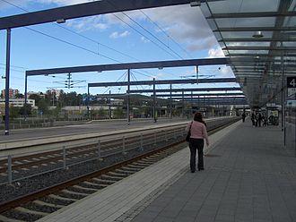 Leppävaara station - View of track 4