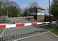 Level crossing at Whissendine - geograph.org.uk - 779717.jpg