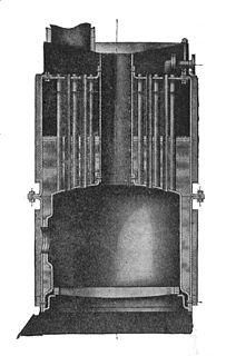 Vertical fire-tube boiler